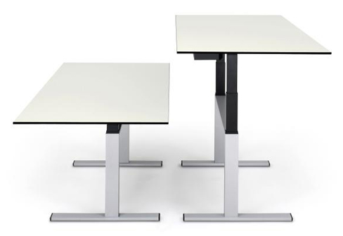 Choice sitting / standing work table
