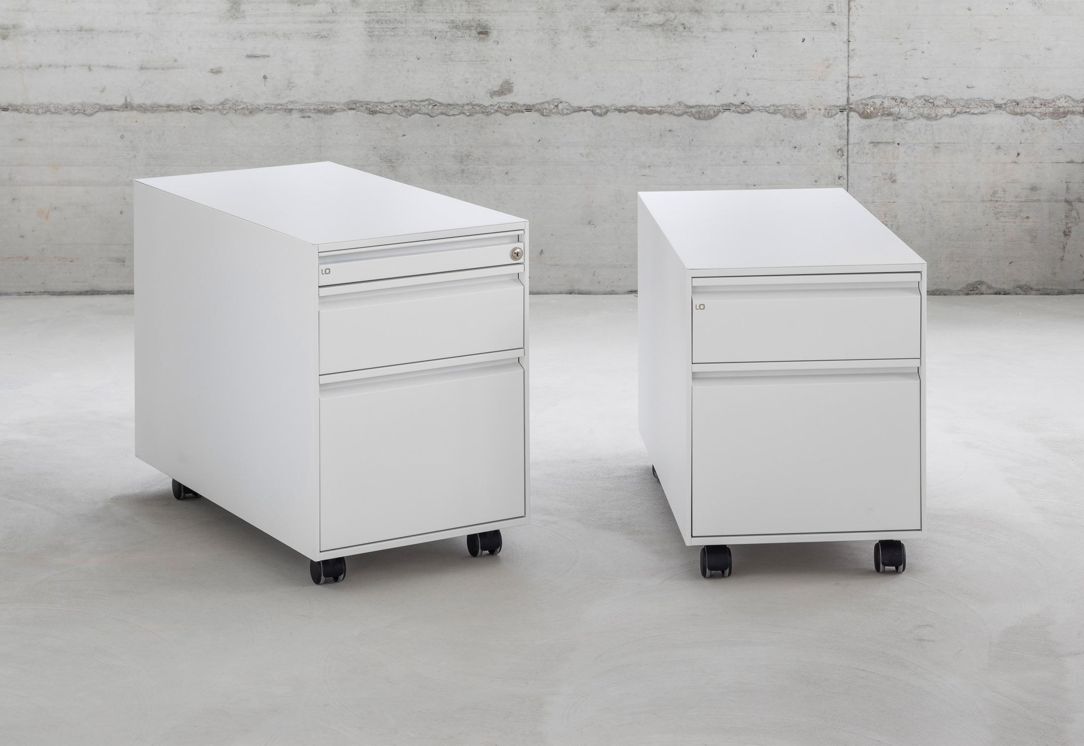 drawer units visser rare pair and black by white martin