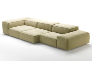 Extrasoft indoor and outdoor sofa  by  Living Divani