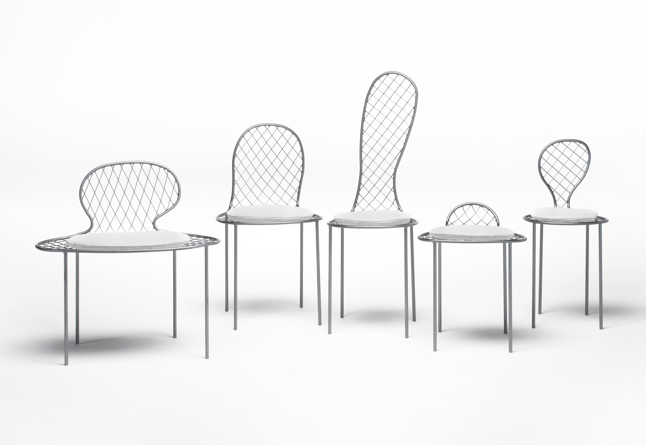 family chair by living divani