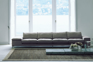 Twice 4-seater  by  Living Divani