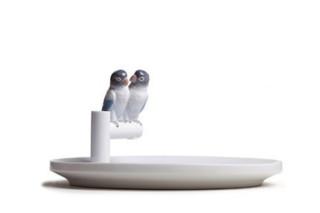 Lladro的《鹦鹉之爱》