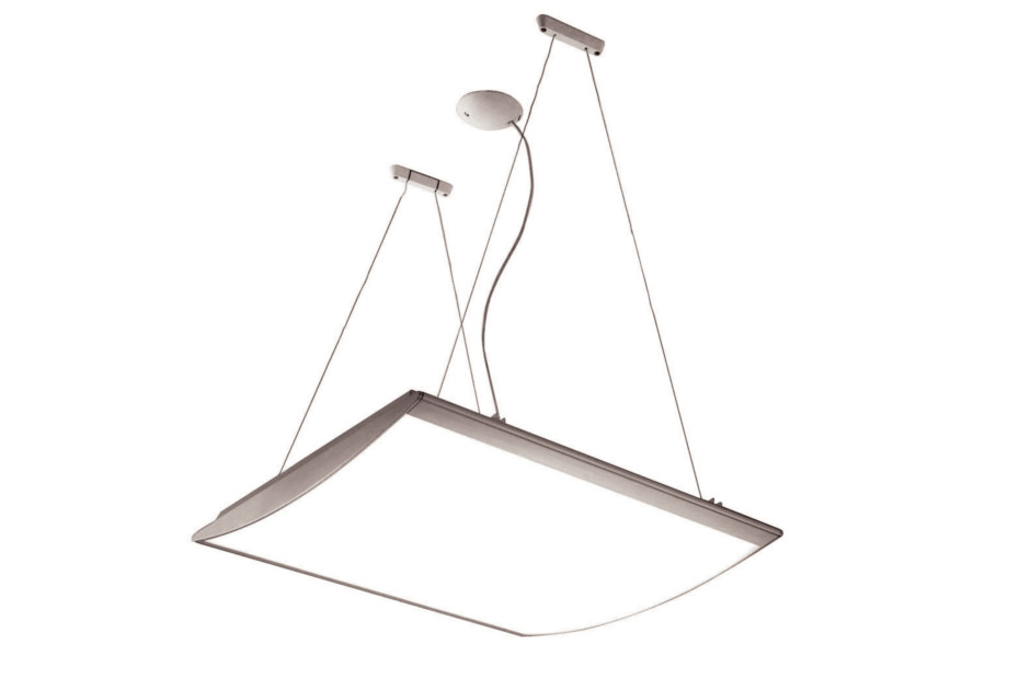 Strip pendant lamp
