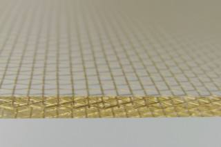 Bronze Mesh resin panel  by  Lumicor