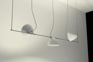 Omicron Pendant luminaire 3 shades  by  Lumina Italia