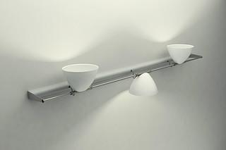 Omicron Walllamp 3 shades  by  Lumina Italia