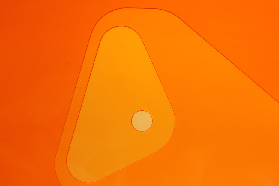 Metocene | Materialdicke/Farbe | orange
