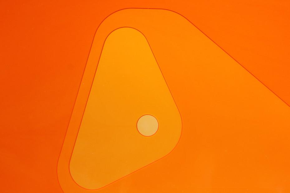 Metocene | material thickness/colour | orange