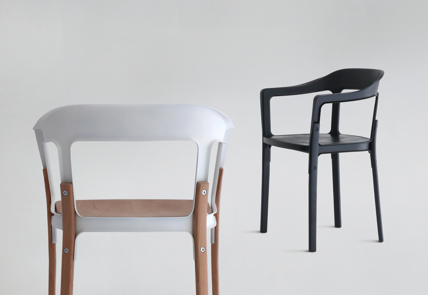 Steelwood chair by magis stylepark for Magis steelwood