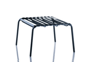 STRIPED foot stool  by  Magis