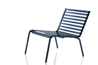 STRIPED low chair  by  Magis