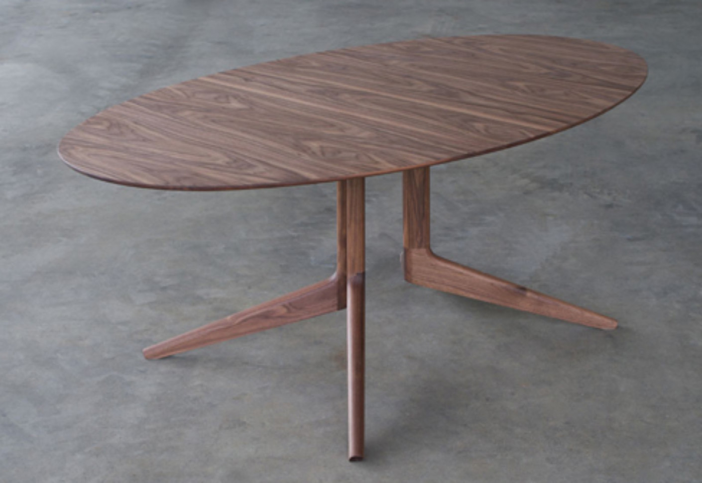 Light Oval Table By Matthew Hilton Stylepark