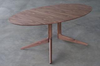 Light oval table  by  Matthew Hilton