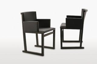 MUSA Stuhl mit Armlehne  von  Maxalto