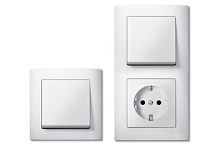M-ARC Switch and socket combi  by  Merten