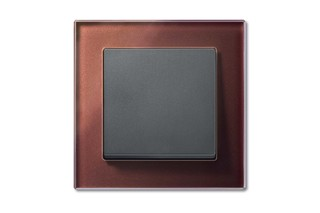 M-PLAN Rocker switch with glass frame  by  Merten