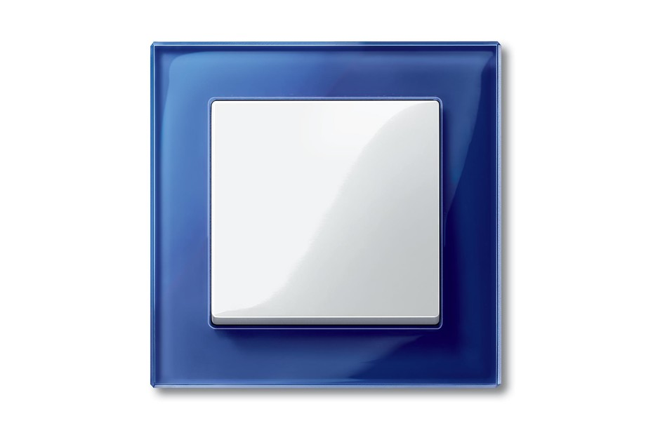 M-PLAN Rocker switch with glass frame