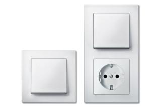 M-PLAN Schalter-Steckdosen-Kombi  von  Merten