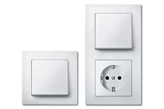 M-PLAN Switch and socket combi  by  Merten