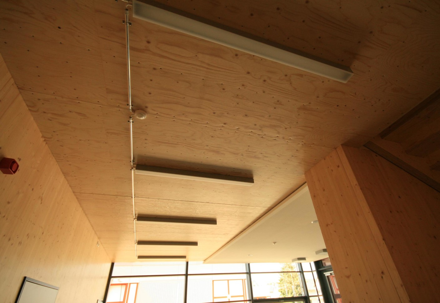 Interior Wall Wood Finishes : Interior finishes einhardschule seligenstadt by mets?
