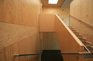 Interior finishes, Einhardschule Seligenstadt  by  Metsä Wood