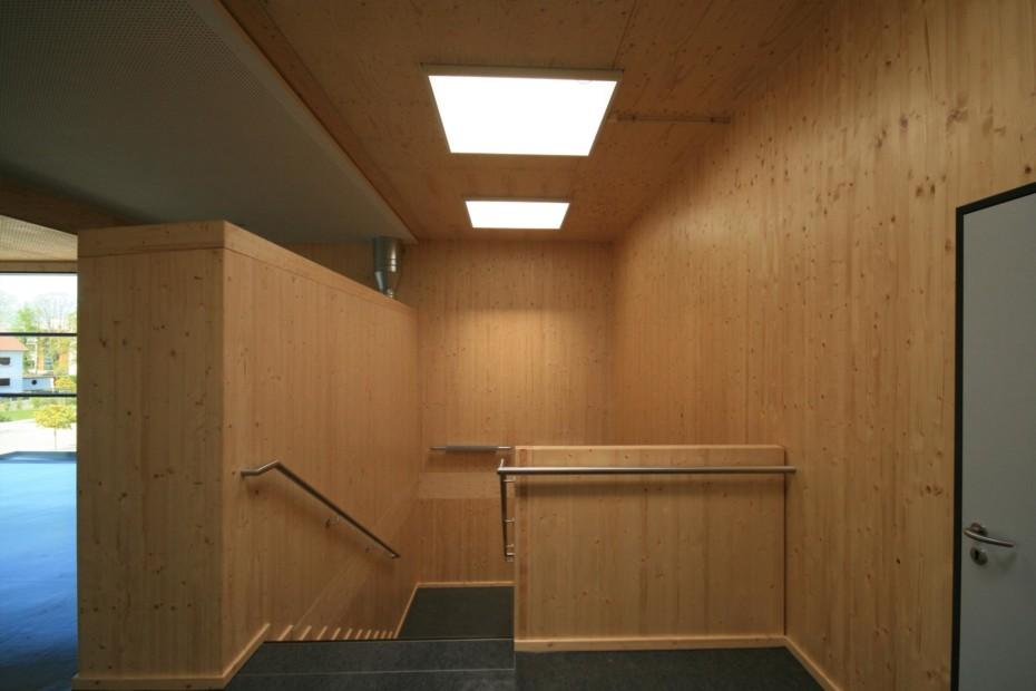 Interior finishes, Einhardschule Seligenstadt