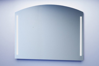 segmental arched mirror  by  Minetti