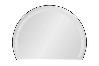 segmental arched mirror  by  Minetti
