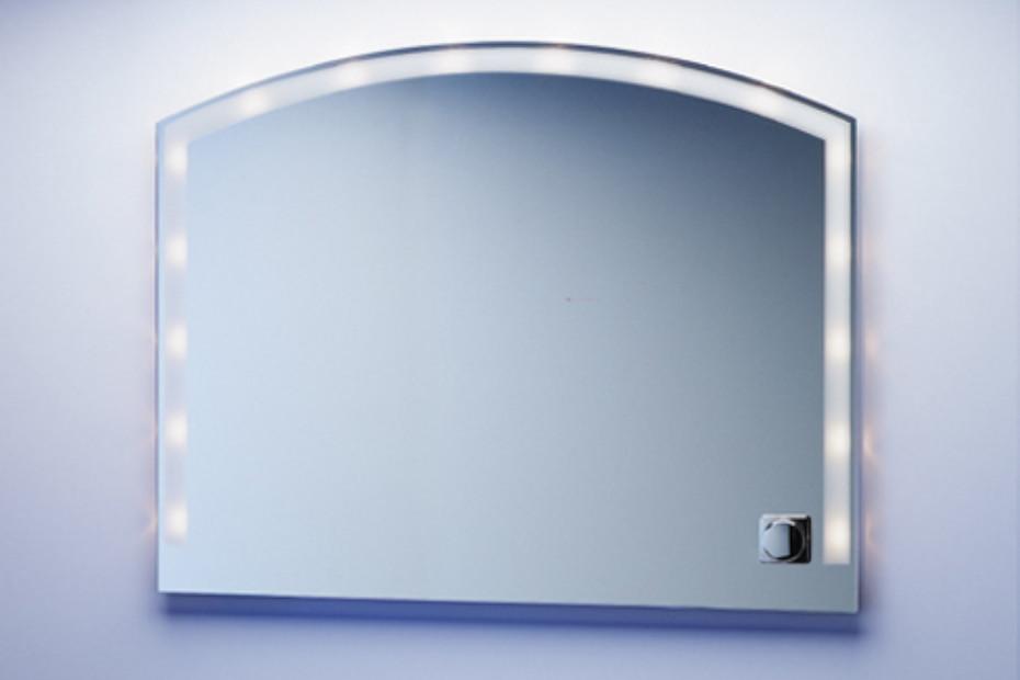 segmental arched mirror