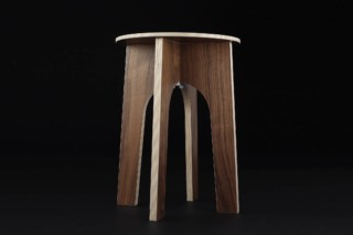 Easy stool  by  Möbelbau Kaether & Weise