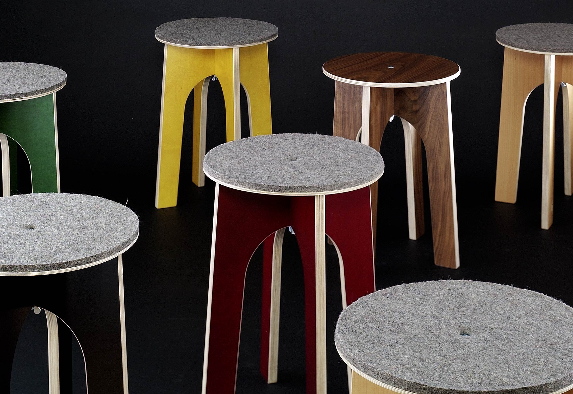 Easy Stool By M 246 Belbau Kaether Amp Weise Stylepark