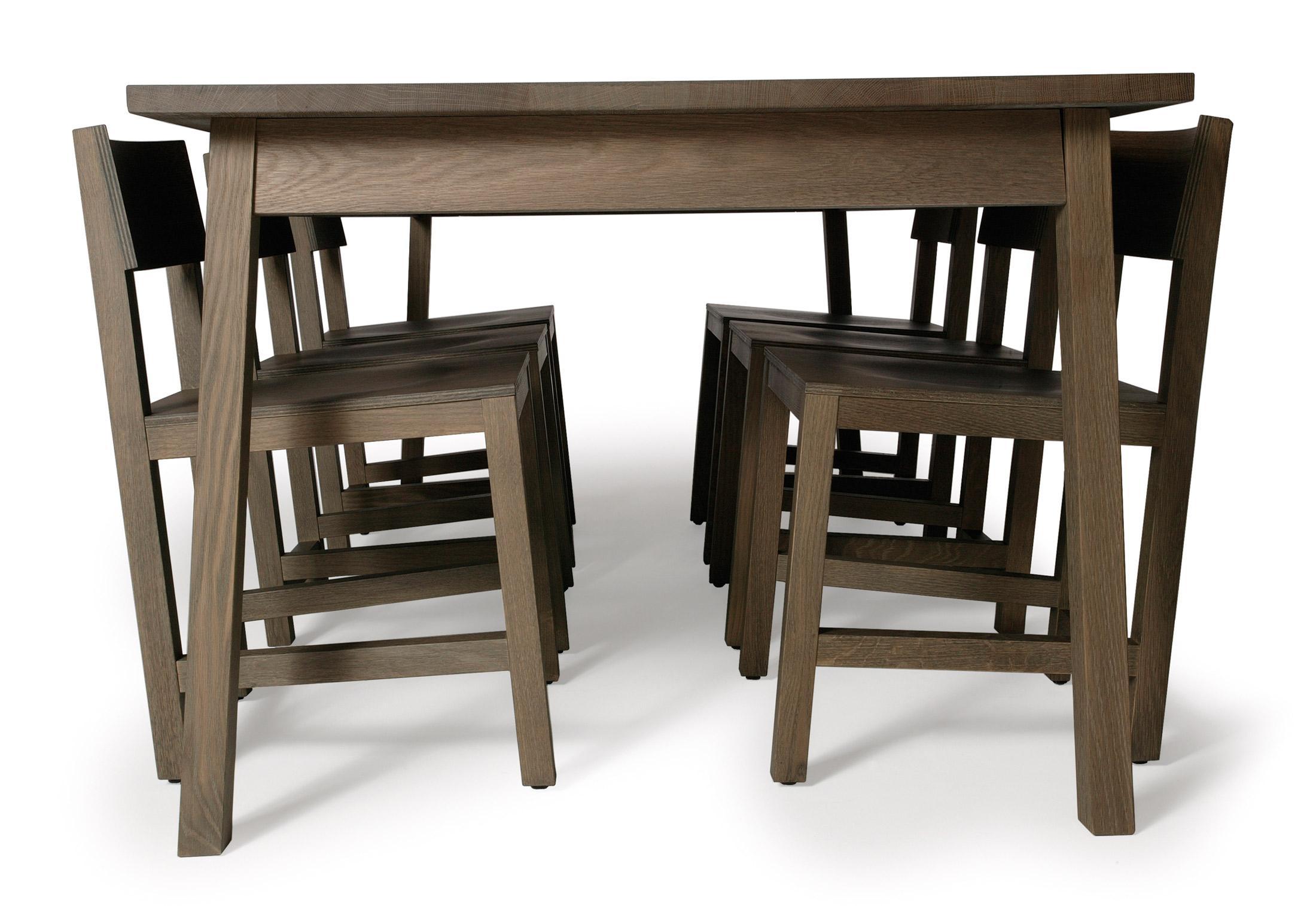 Schön Shaker Stil Küchentisch Und Stühle Galerie - Küche Set Ideen ...
