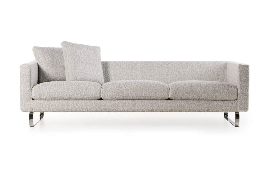 Boutique Sofa, Silver