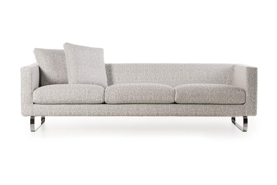 Boutique Sofa, Silver