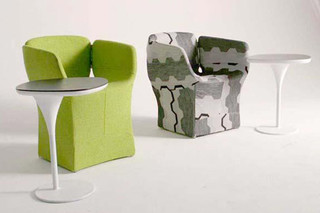 Bloomy sidetable  by  Moroso