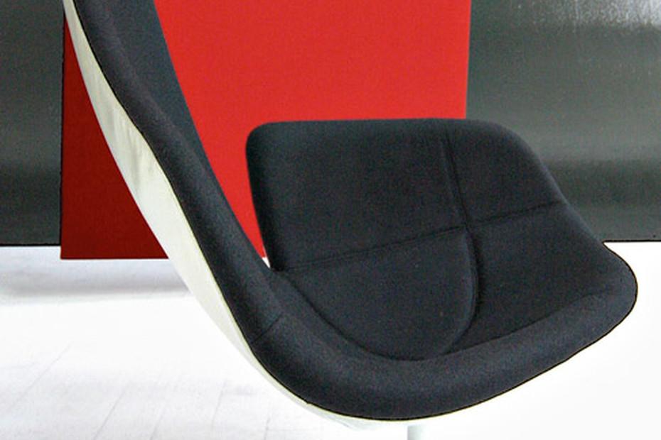 Fjord swivel armchair