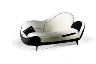 Los Muebles Amorosos Sofa  von  Moroso