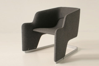 Skate Armchair  by  Moroso
