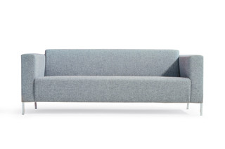 Steel sofa  by  Moroso