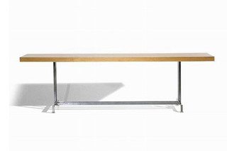 Steel table  by  Moroso