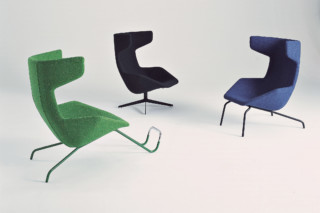 Take A Line For A Walk Drehsessel  von  Moroso