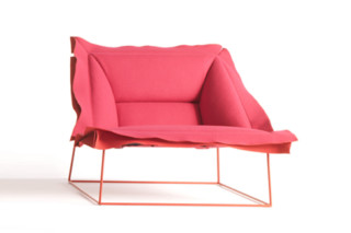 Volant armchair  by  Moroso