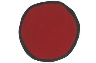 Aros Round Red  von  nanimarquina