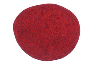 Bichos y flores red  von  nanimarquina