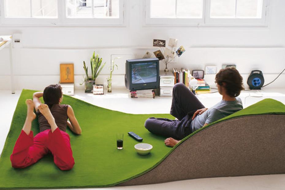 Flying Carpet Green