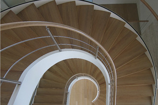 Helical stair, Moscow  by  Nautilus
