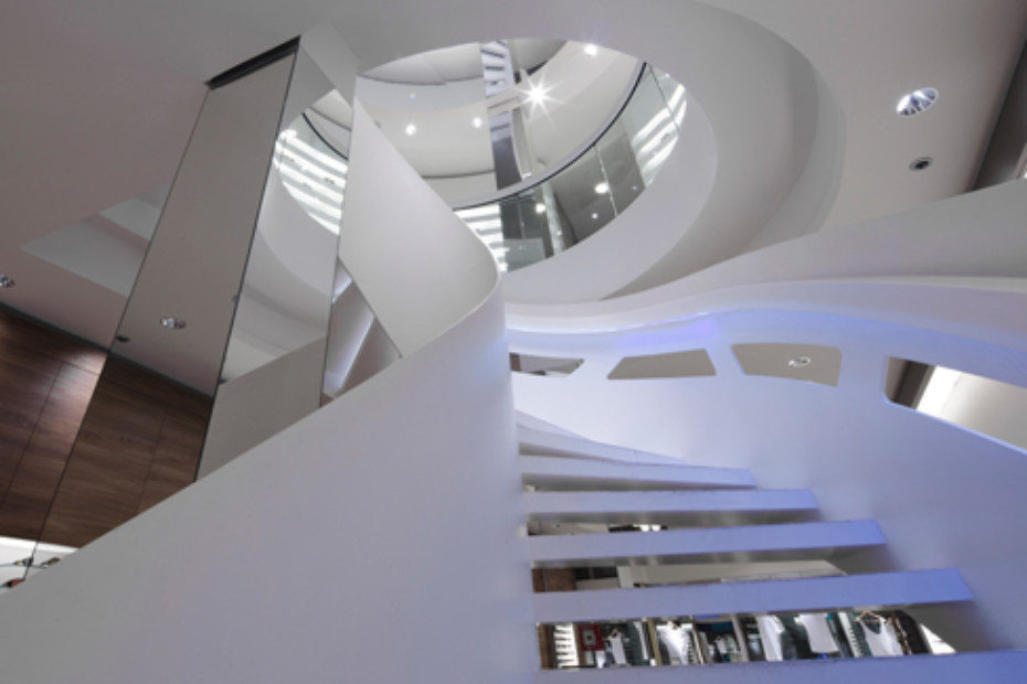 ... Helical Stair, Stuttgart ...