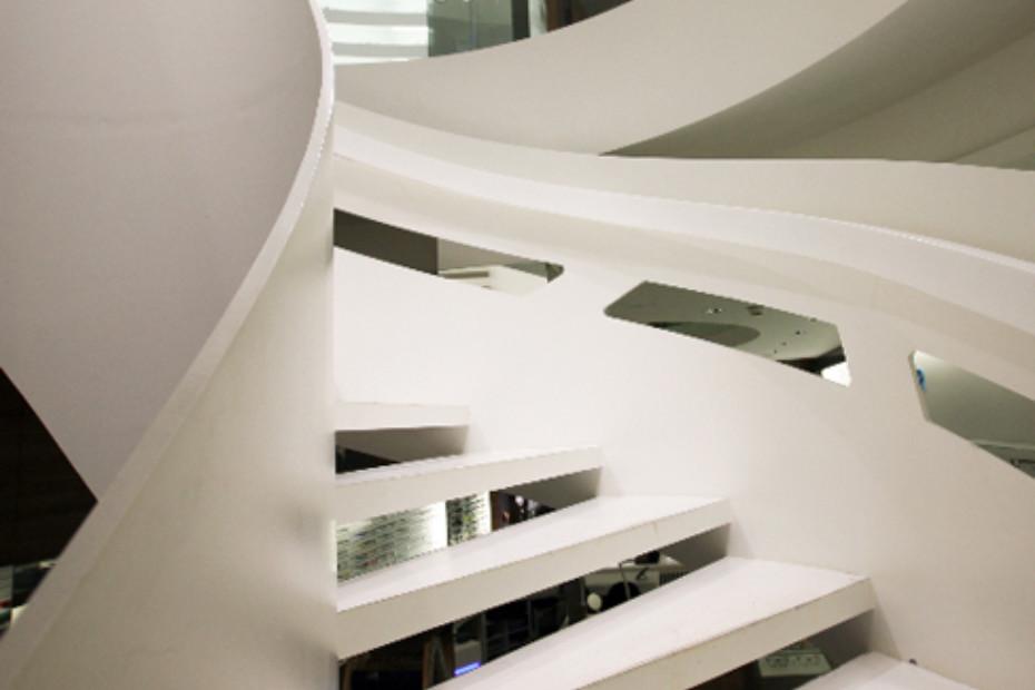 Helical stair, Stuttgart
