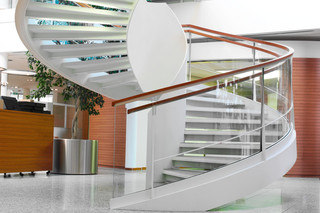 Helical stairs, Eschenbach  by  Nautilus