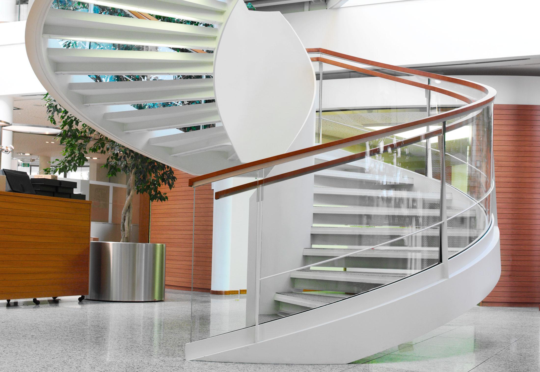 Helical Stairs, Eschenbach · Helical Stairs, Eschenbach ...